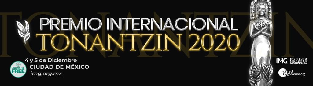 Premio Internacional Tonantzin 2020 - Instituto Mejores Gobernantes