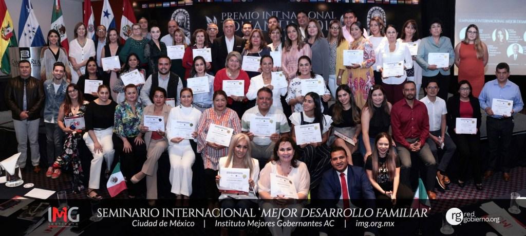 Seminario Internacional Mejor Desarrollo Familiar 2019 - Instituto Mejores Gobernantes, Galo Limón, Presidente