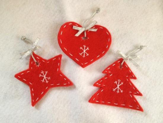 Natale Decorazioni Di Feltro Da Fare Con I Bambini Oggi