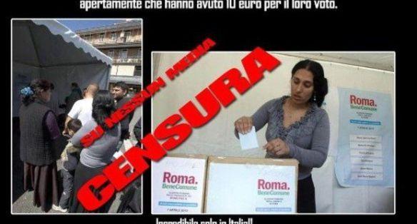 La cazzimma social, i rom e le primarie.