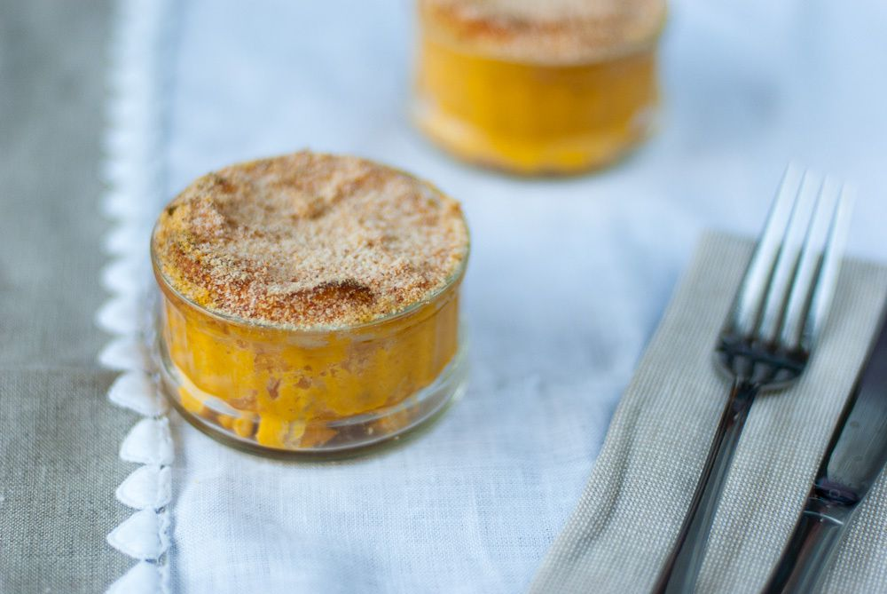 Pumpkin Soufflés