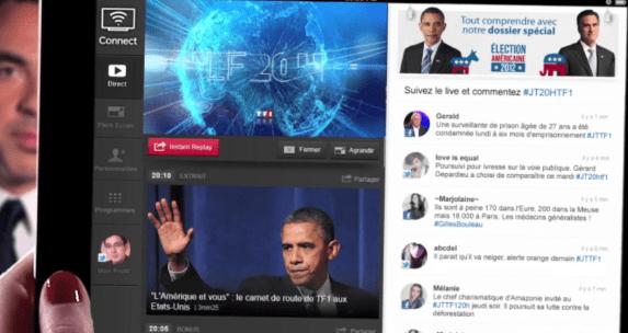 MYTF1 présente Connect [socialTV]