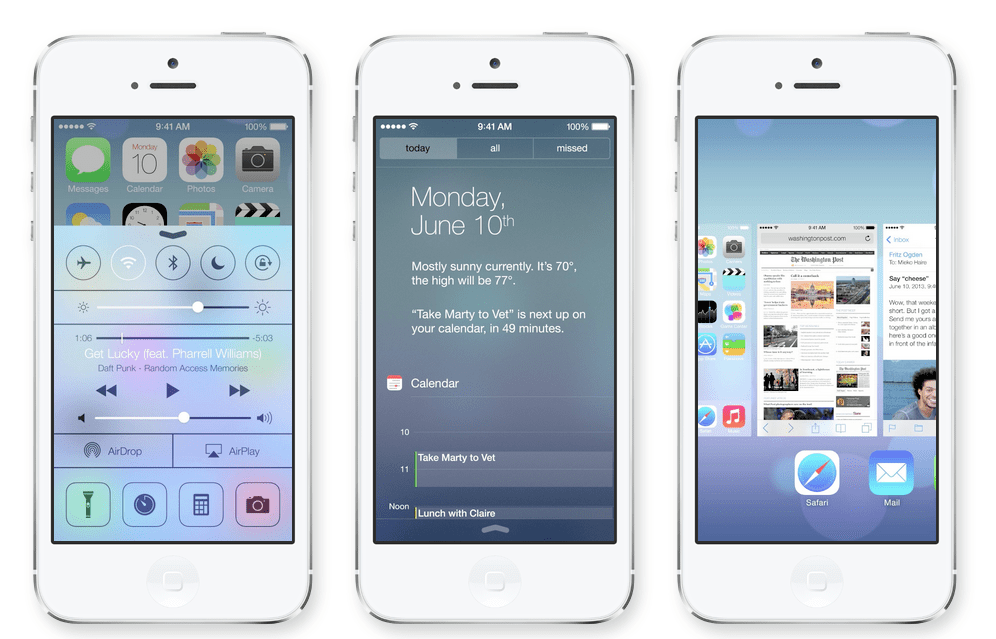 un week end avec ios7 [betatest]