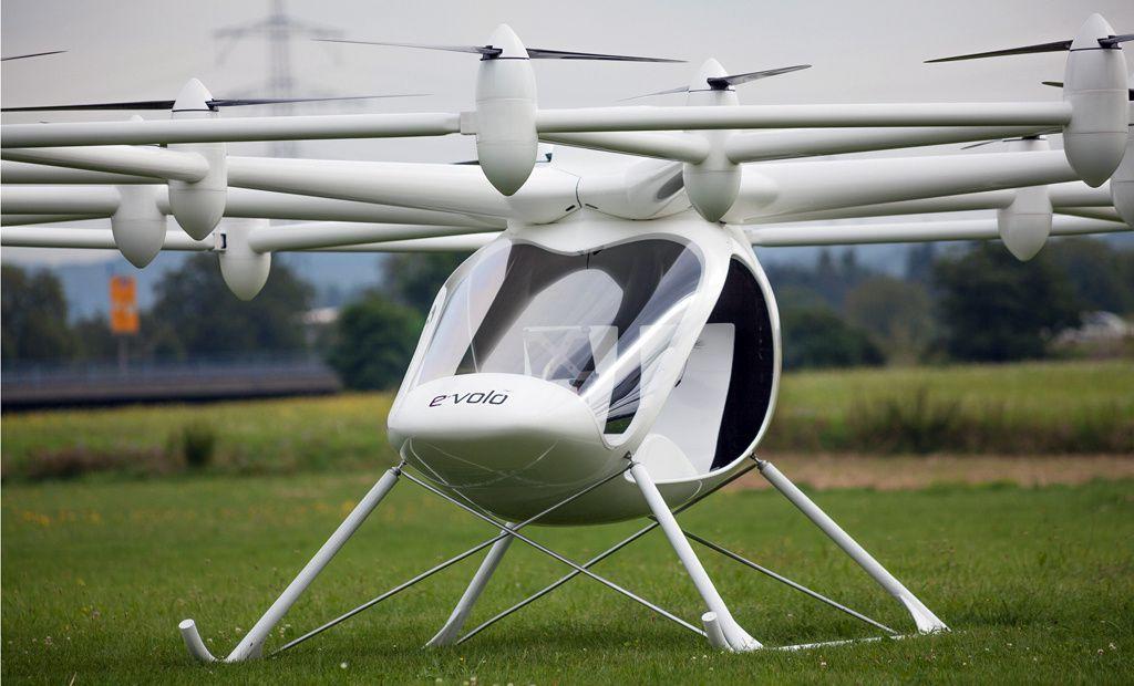 Volocopter : un premier hélicoptère électrique [mooving]