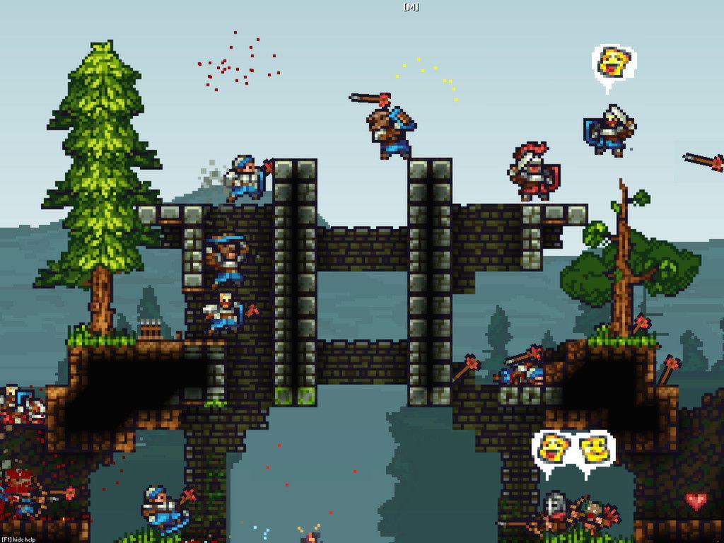 King Arthur's Gold : du multi-joueurs, du pixel art et des châteaux [indie] [test]