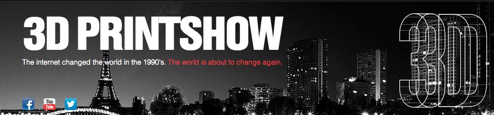 3DPrintShow Paris 2013 : re-matérialisation des contenus [CR]