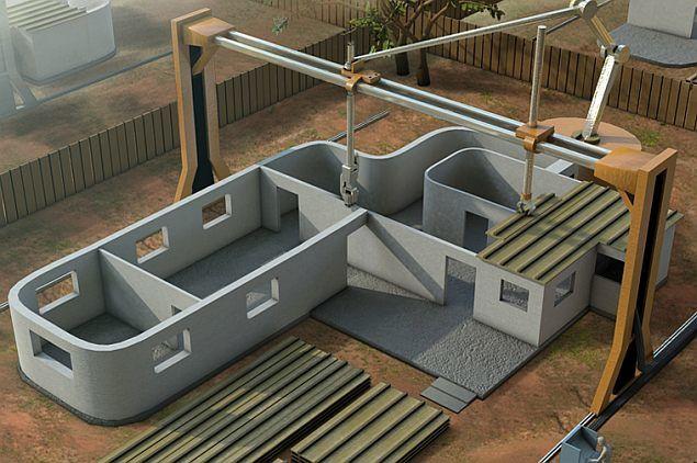 Une imprimante 3D pour fabriquer des maisons [FuturIsNow]