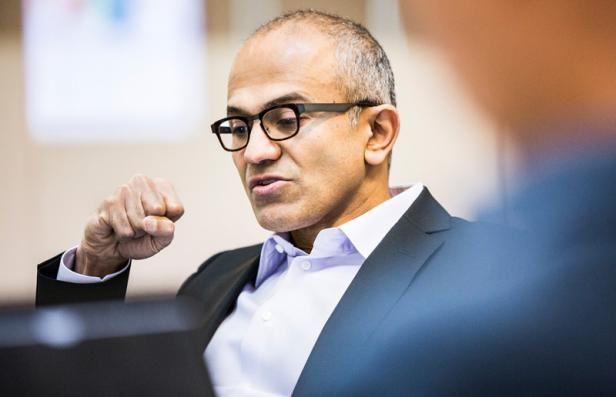 Satya Nadella, le nouveau boss de Microsoft [rulestheworld]