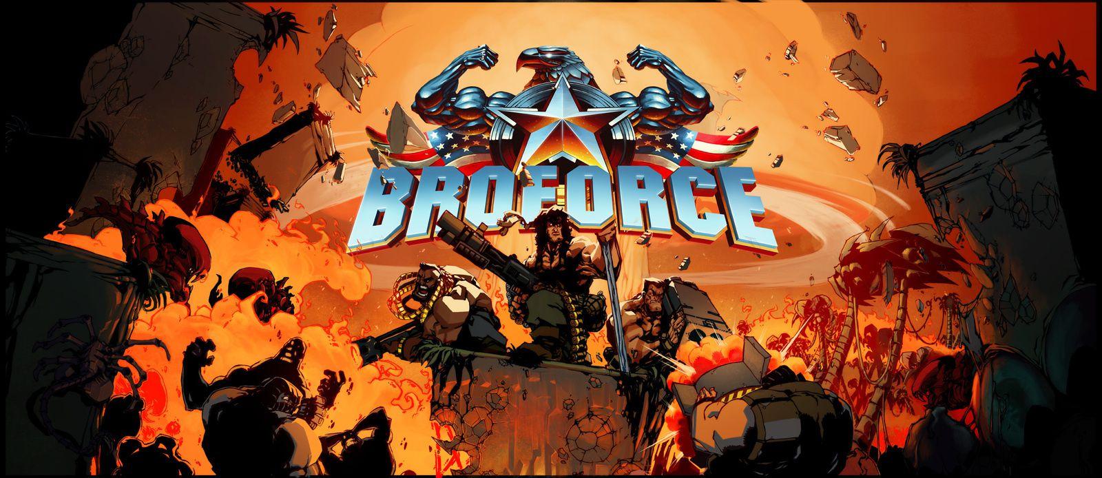 BroForce dispo sur Steam [metalslugnextgen]