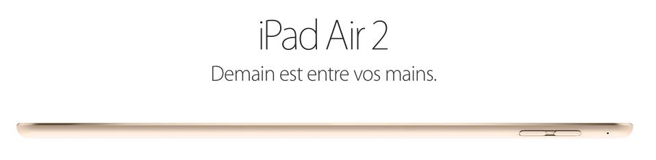 Yosemite, iPad et iMac, parce qu'il n'y a pas que l'iPhone dans la vie [Apple]