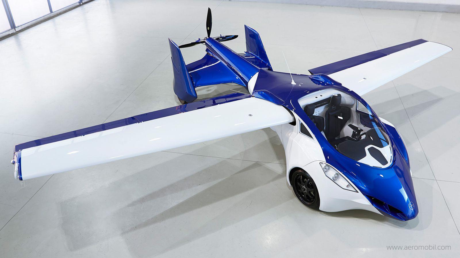 Aeromobil : et la voiture qui vole devient une réalité [futurisnow]