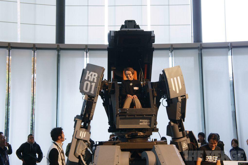 Un robot Japonais géant à vendre [intheshell]