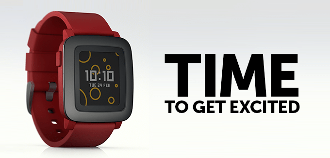 Pebble Time : la smartwatch alternative [gameboycolor]