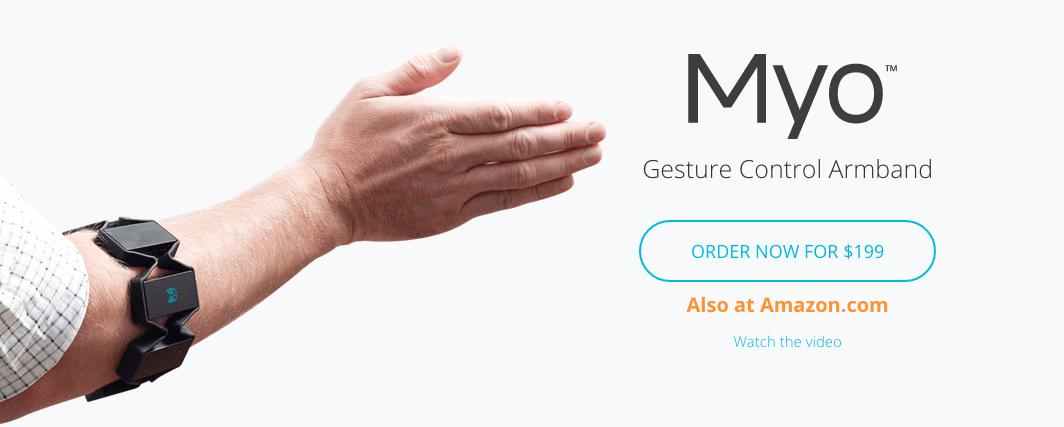 Myo : une autre vision de l'interface homme - machine [ToutAlHeure]