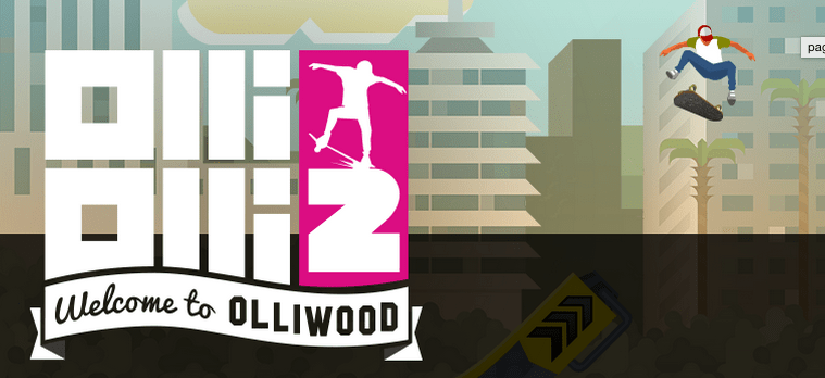 OlliOlli 2 : welcome to Olliwood [test]