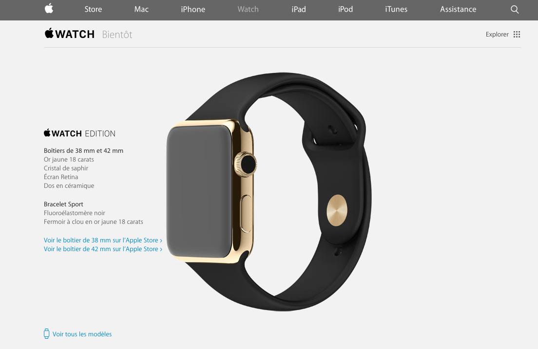 Apple Watch : elle arrive [Winter]