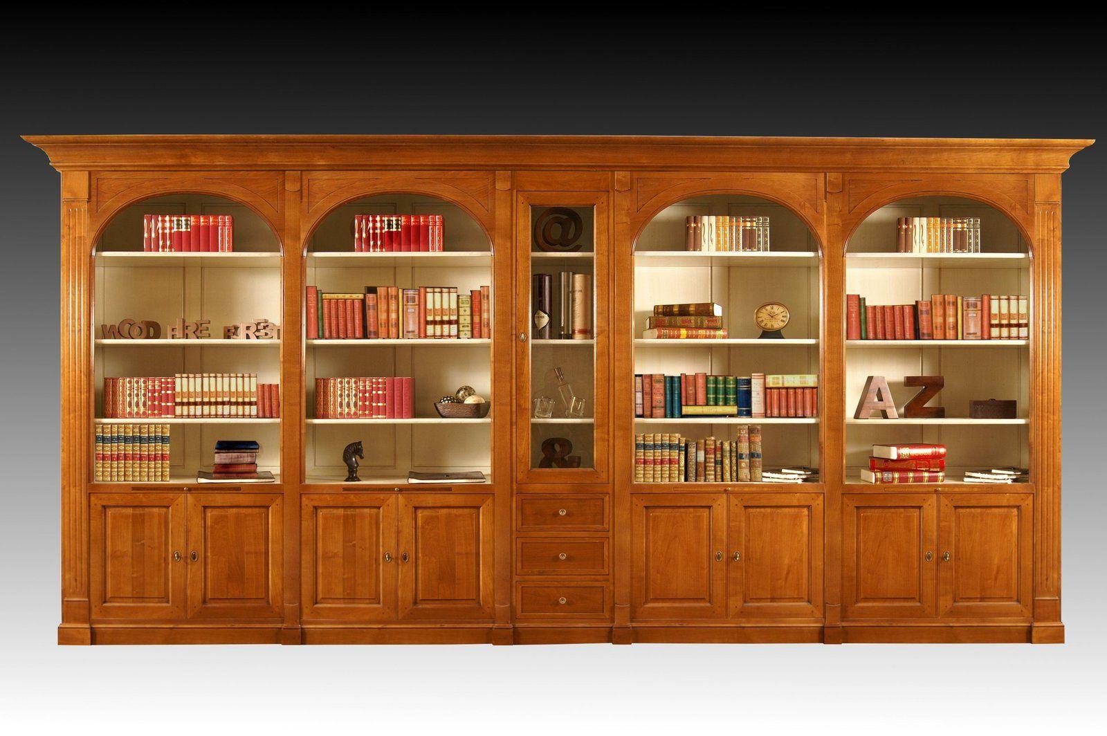 Meuble Bibliothque Sur Mesure En Bois Massif Meubles En