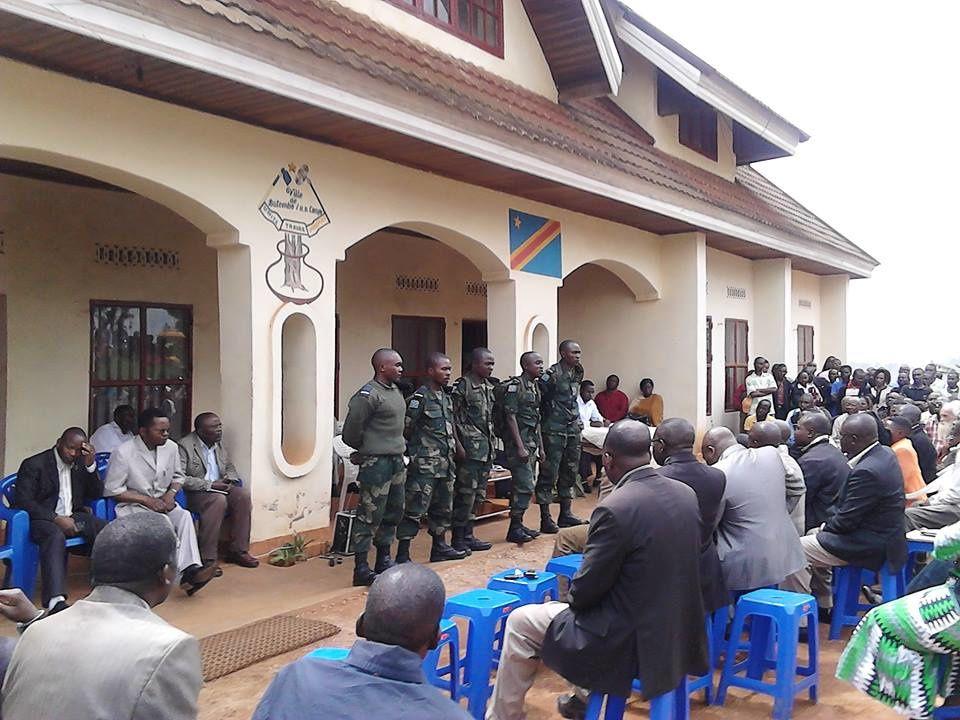 Ils sont fiers de servir sous le drapeau pour le compte de Butembo, leur village natal.