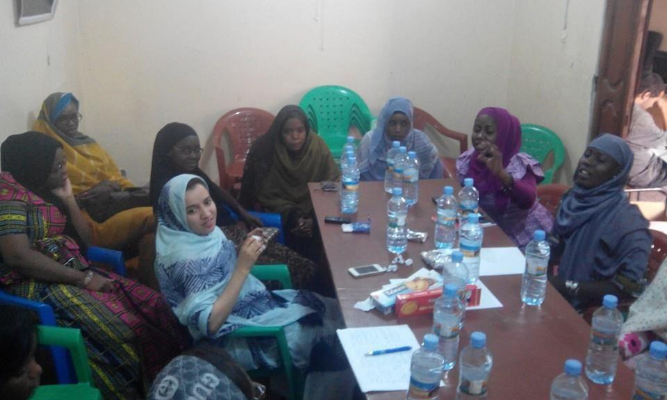 Séance « Voix des femmes » du 19 mars 2016 dans la commune d'El Mina (Nouakchott) – Thème : l'accès des femmes aux métiers.