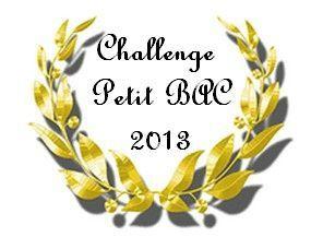 """Lu aussi dans le cadre du challenge """"Petit Bac 2013"""", dans la catégorie Couleur (Coeur d'ARGENT)."""