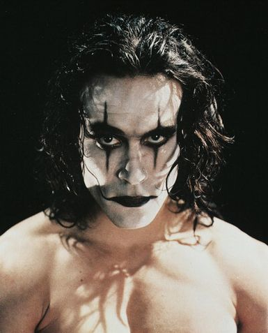 The Crow pour le maquillage...