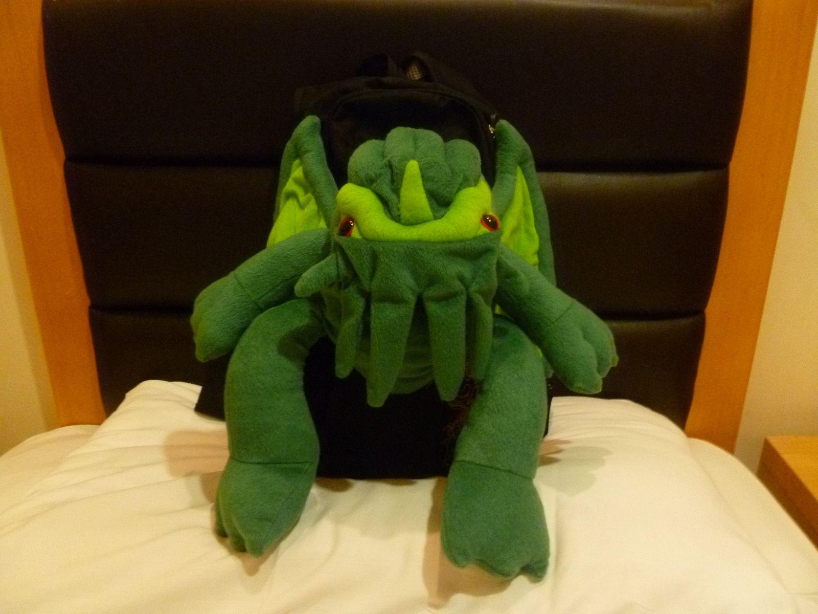 Cthulhu dans sa chambre d'hôtel...