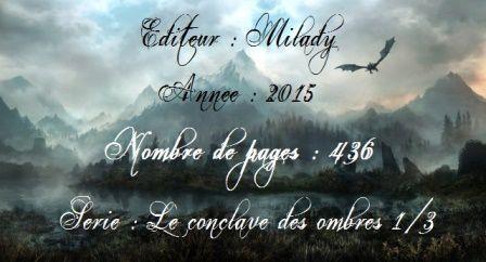 [Chronique Fantasy] Le conclave des ombres. T1, Serre du faucon argenté, de Raymond E. Feist