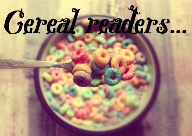 Cereal readers #3