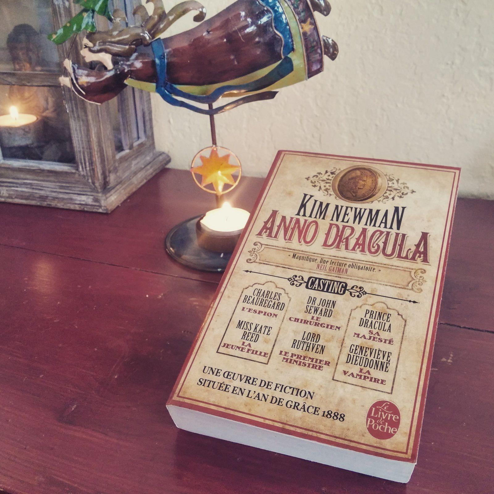 JOUR 9 du #neverlandpbc de Décembre 2016 : un #livre dont le nom de l'auteur commence par N... #annodracula de #kimnewman
