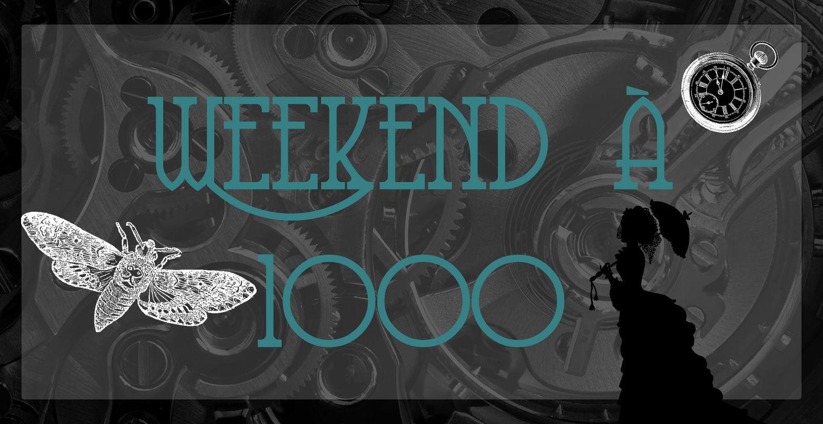 [Challenge] Weekend à 1000 #1 - Le bilan