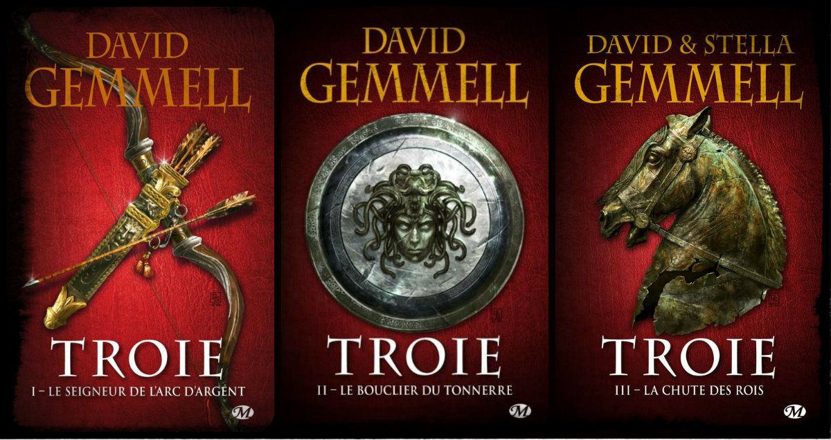 [Saga fantasy] Troie, de David Gemmell