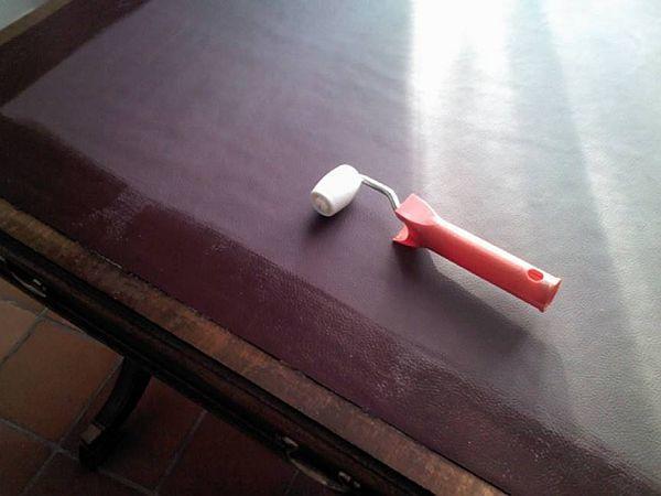 surface de bureau en cuir surface de bureau