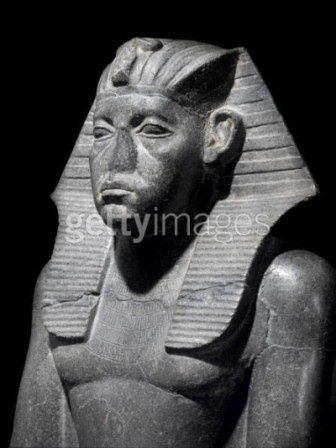 This is how most of the Egyptian statues are defaced as you can notice in most of these images to hide that pharaohs had broader noses or thicker lips common on certain native Africans