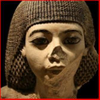 We can see how the true color of this statue have been scratched off, the nose/face broken off