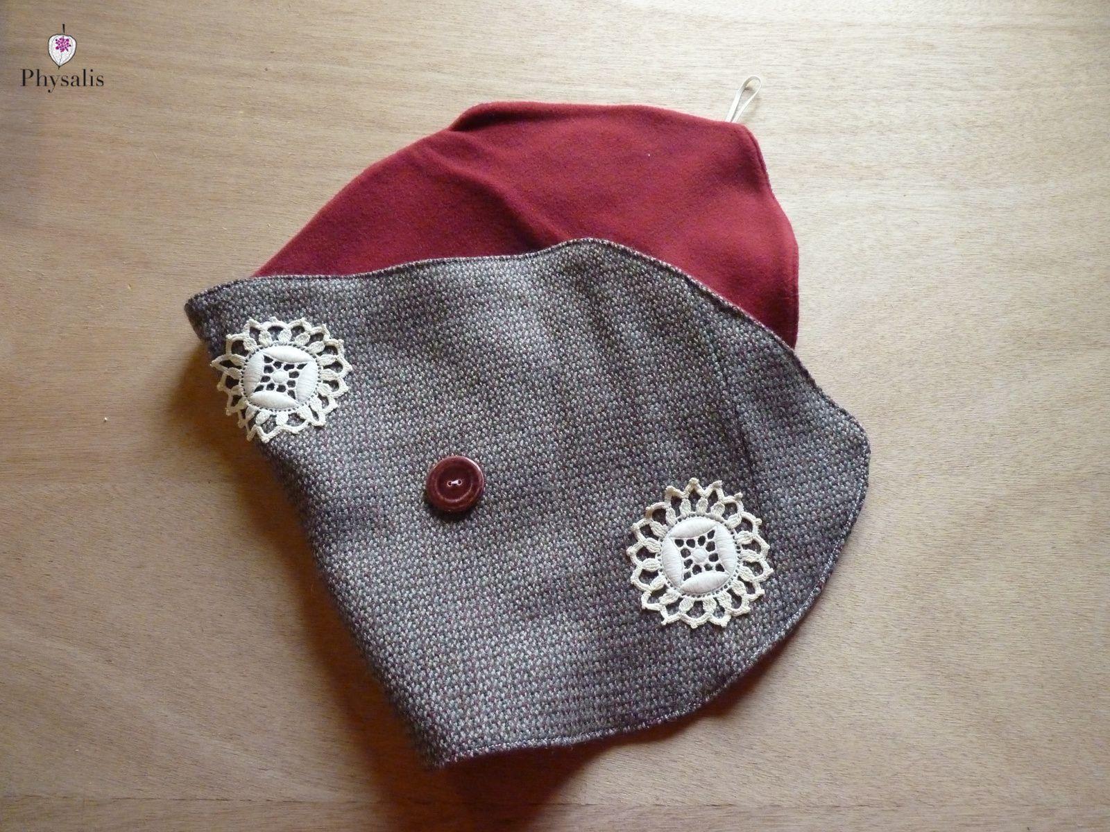 Un faux col récup pour l'hiver - une garde robe éco responsable