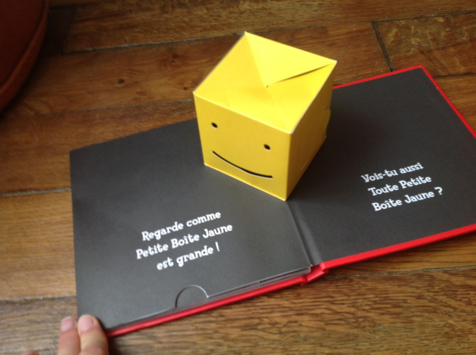 Petite boîte jaune de David A. Carter