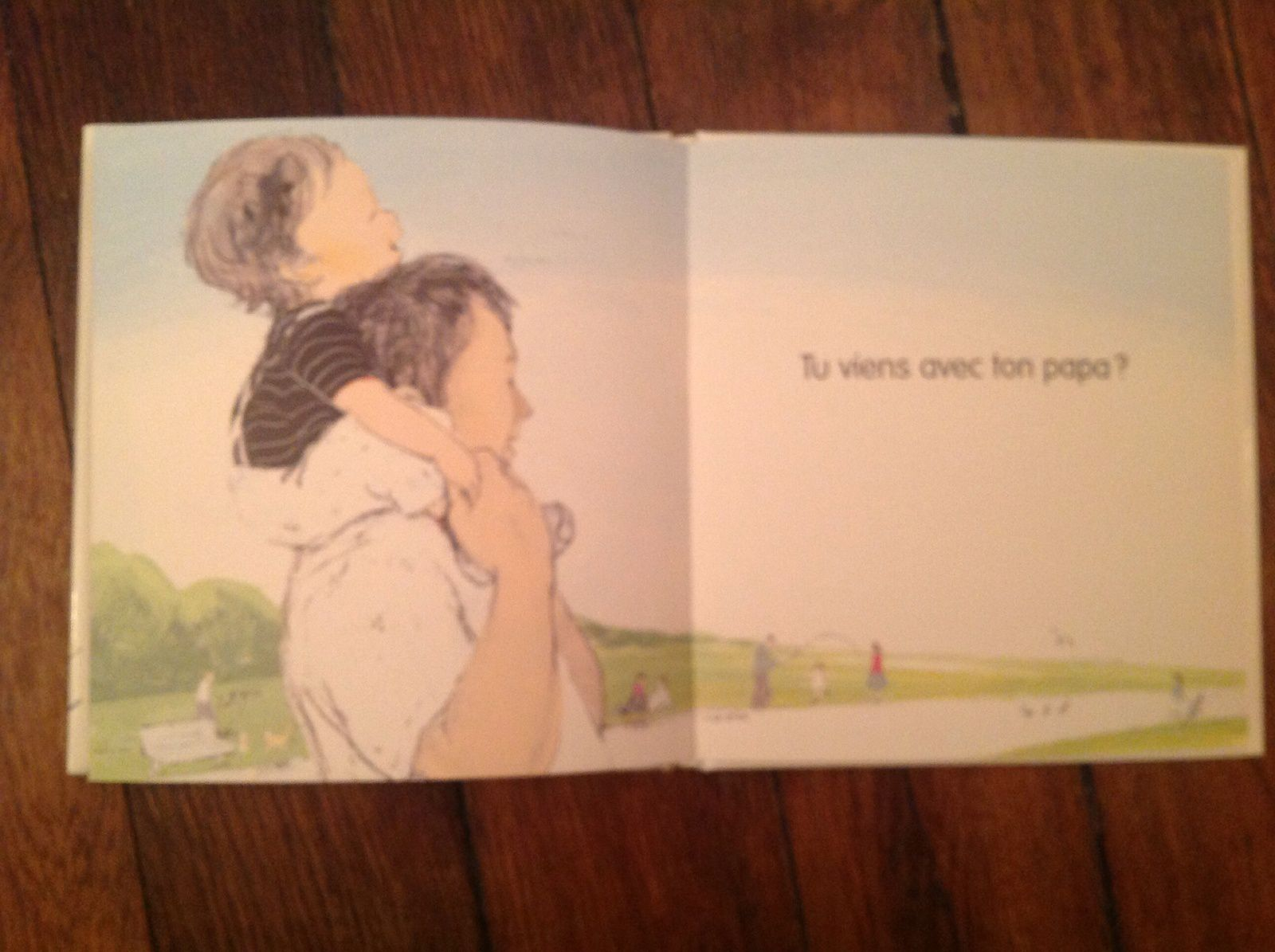 Ne bouge pas ! de Nakawaki Hatsue et Komako Sakai