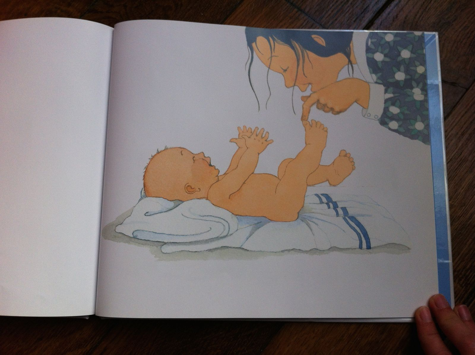 2 petites mains et 2 petits pieds de Mem Fox et Helen Oxenbury