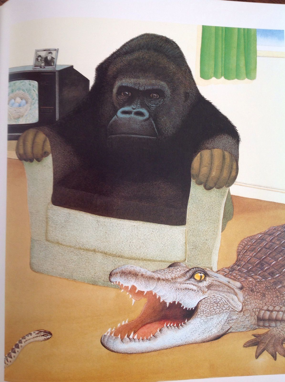 Tout change, Anthony Browne