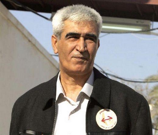 Ahmad Saadat, secrétaire général du FPLP, enfermé depuis 2002.