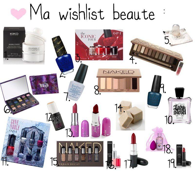 Wishlist de Noël ❄