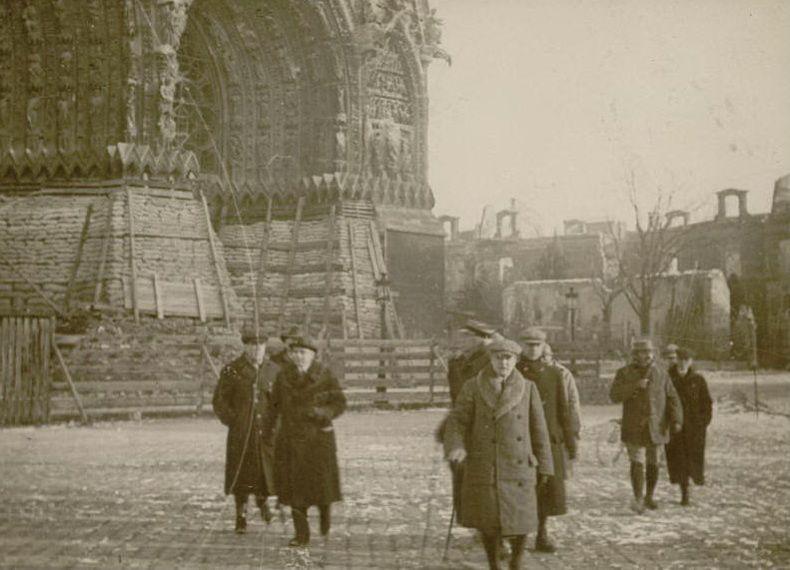 Le 21 décembre 1917 : mission des conférenciers américains