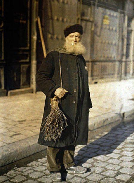 Portraits de Rémois en 1917 - Autochromes
