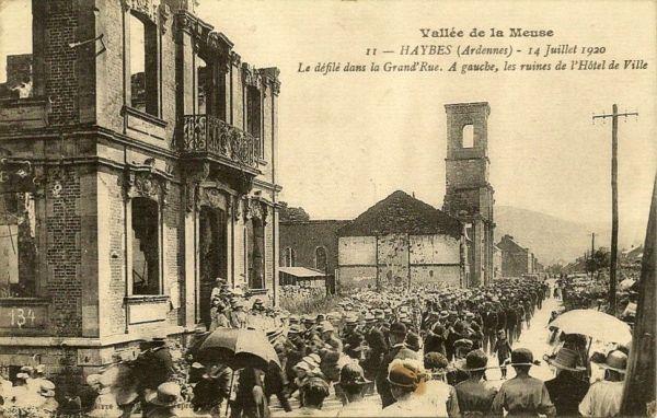 Haybes-sur-Meuse : Ville Martyre