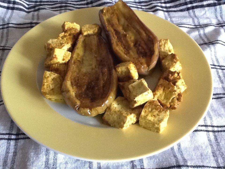 Aubergines Et Tofu Au Micro Ondes Le Blog De Co
