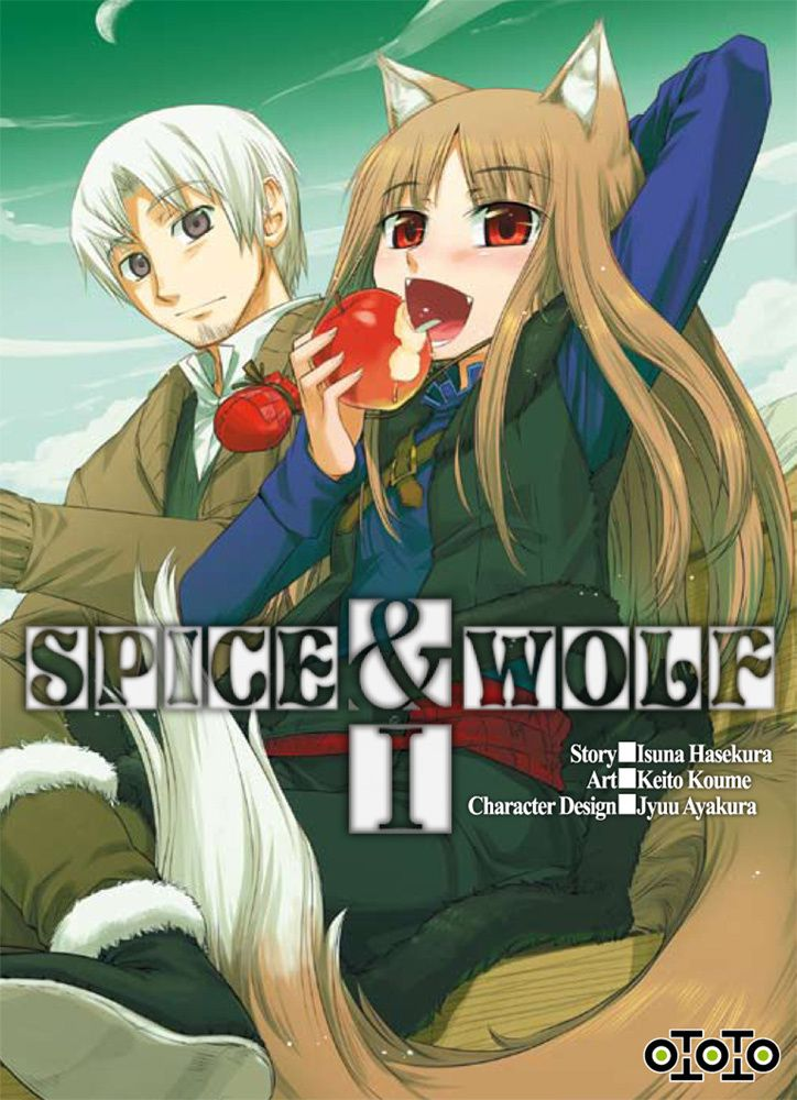 Spice &amp&#x3B; Wolf tome 1