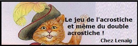 Le jeu des acrostiches : FLEUR DE CACTUS pour mercredi 22 mai et le récap' des participations
