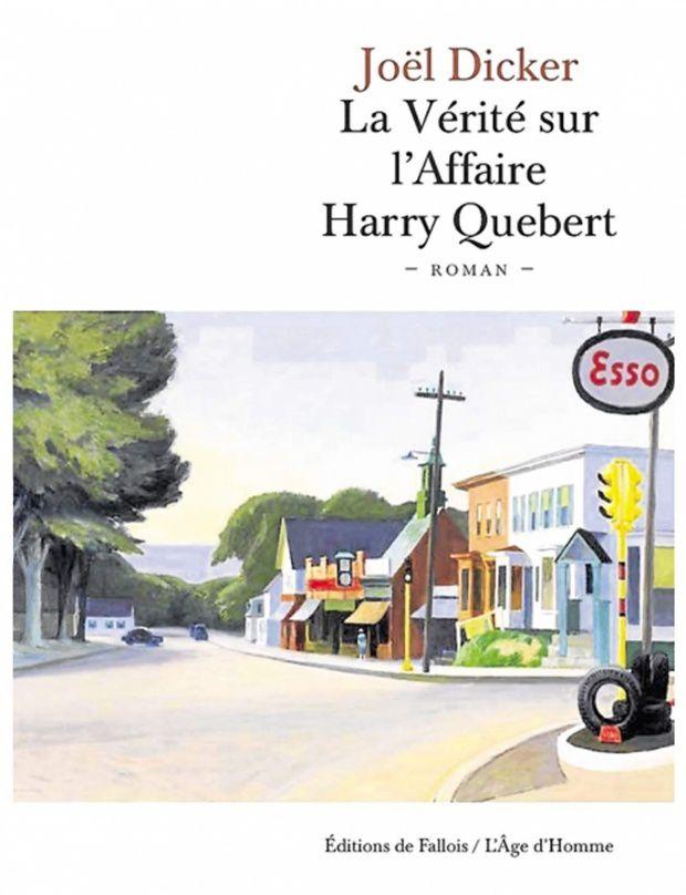 """Résultat de recherche d'images pour """"La vérité sur l'affaire Harry Québert - Joël Dicker :"""""""