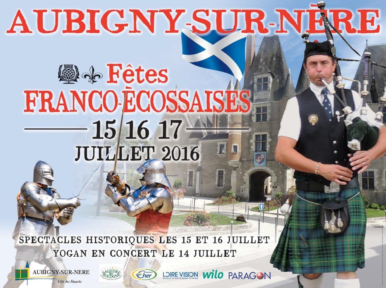 Les Fêtes Franco Écossaises 2016