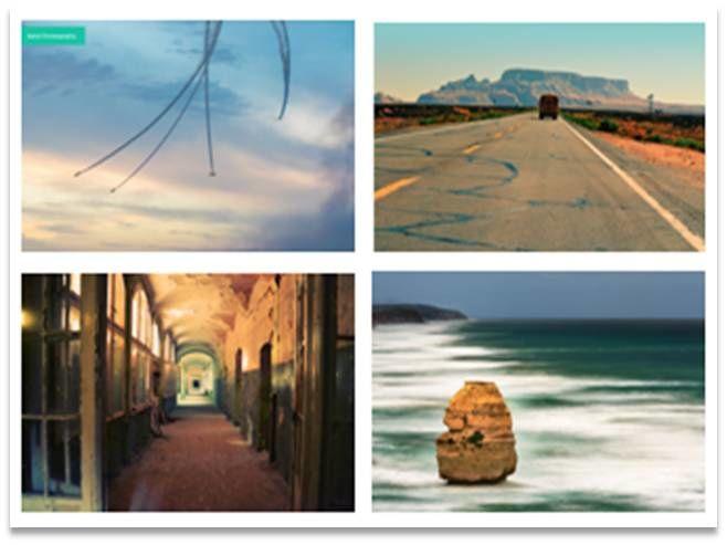 Pas de Sélection thématique // Entrée par la Galerie de photos et sélection pour téléchargement